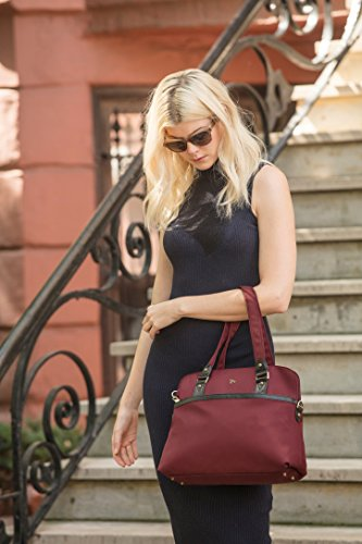 Travelon Anti-Theft Ltd Satchel, Wine by Travelon (Image #1)