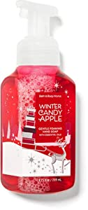 White Barn Candle Company Bath and Body Works Gentle Foaming Hand Soap w/Essential Oils- 8.75 fl oz - Winter 2020 - Many Scents! (Winter Candy Apple)