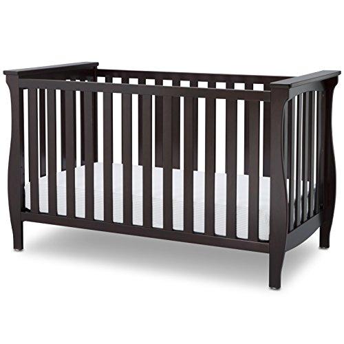 Delta Children Lancaster 3-in-1 Convertible Baby Crib, Dark Chocolate Review