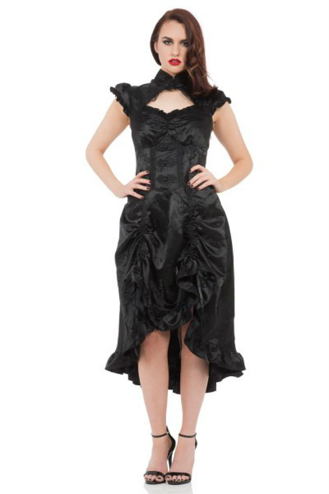Jawbreaker Gothic Victorian Steampunk Retro Madame of The House Dress 3