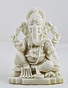 Blessing Ganesha Sri Ganesh Beautiful Statues Hindu Altar Puja Aarti