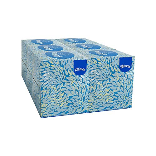 An Item of Kleenex White Facial Tissue Pop-Up Box, 2-Ply (95 tissues per box, 6 boxes per pk.) - Pack of 1