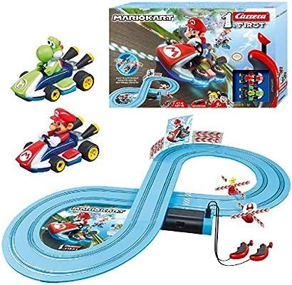 Carrera-1. First Circuito de Coches de Miniatura Nintendo Mario Kart de 2,4 m