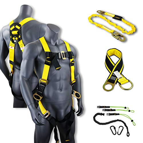 KwikSafety (Charlotte, NC) THUNDER KIT | 3D Full Body Safety Harness, 6
