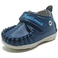 Apakowa Baby Boys Girls Rubber Sole Sneaker First Walkers Shoes Infant Casual Shoes (Color : Rblue, Size : 4 M US Toddler)