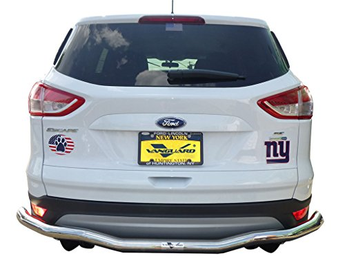 VANGUARD Off Road VGRBG-0984SS For Ford Escape 2013-2018 Rear Bumper Guard Stainless Steel Single Tube Style