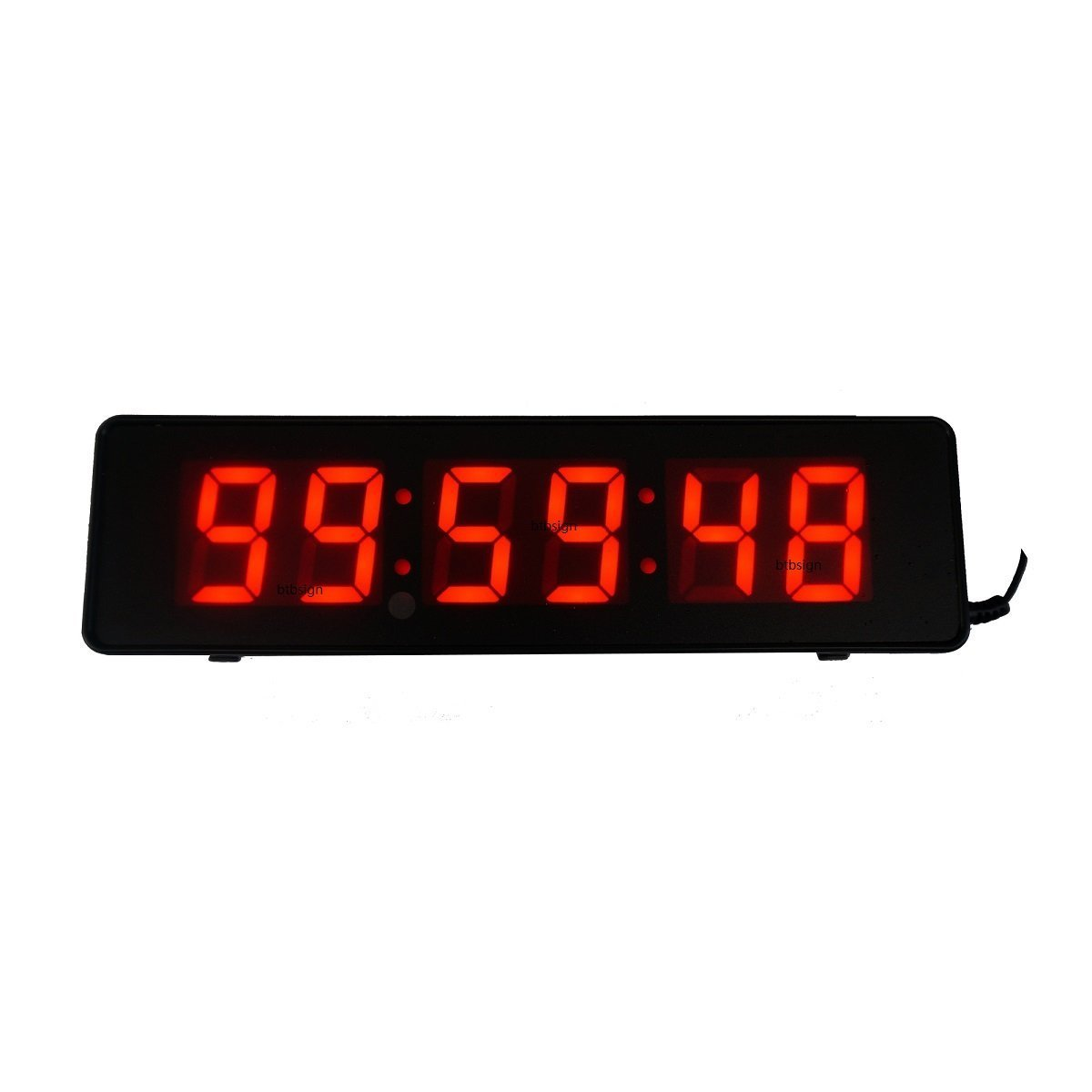 Amazon 2inch 6digits Wall Clock Led Countdown Timer For Time