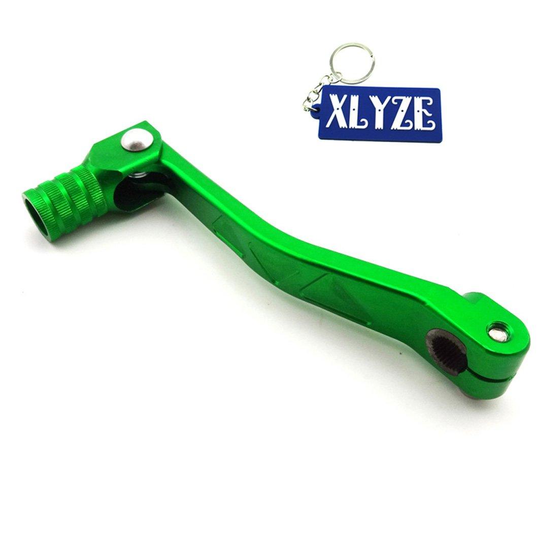 xlyze Schalthebel Getriebe der CNC Aluminium gr/ün f/ür 50/cc 110/cc 125/cc 150/160/cc CRF XR50/KLX SSR GPX YCF Motor Pit Dirt Bike