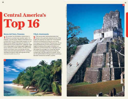 Lonely Planet Central America on a shoestring (Travel Guide) For $10.96