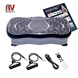 Roneyville Ultra Compact Thin Vibration Power Plate with USB Music Player – Xtreme Fitness Crazy...