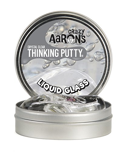 "Crazy Aaron's Thinking Putty 4"" Tin - Liquid Glass..."