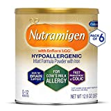 Nutramigen with Enflora LGG for Cow?s Milk Allergy Powder can, for Babies 0-12 Months, 12.6-Ounce Cans (Case of 6) image