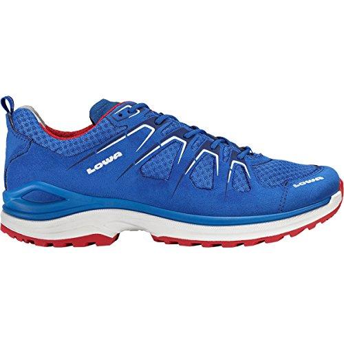 Lowa - Innox Evo LO Chaussures multifonctionnelles pour hommes (bleu/rouge) - EU 42 - UK 8