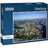 Hamburg - Puzzle 1000 Teile mit Bild von oben