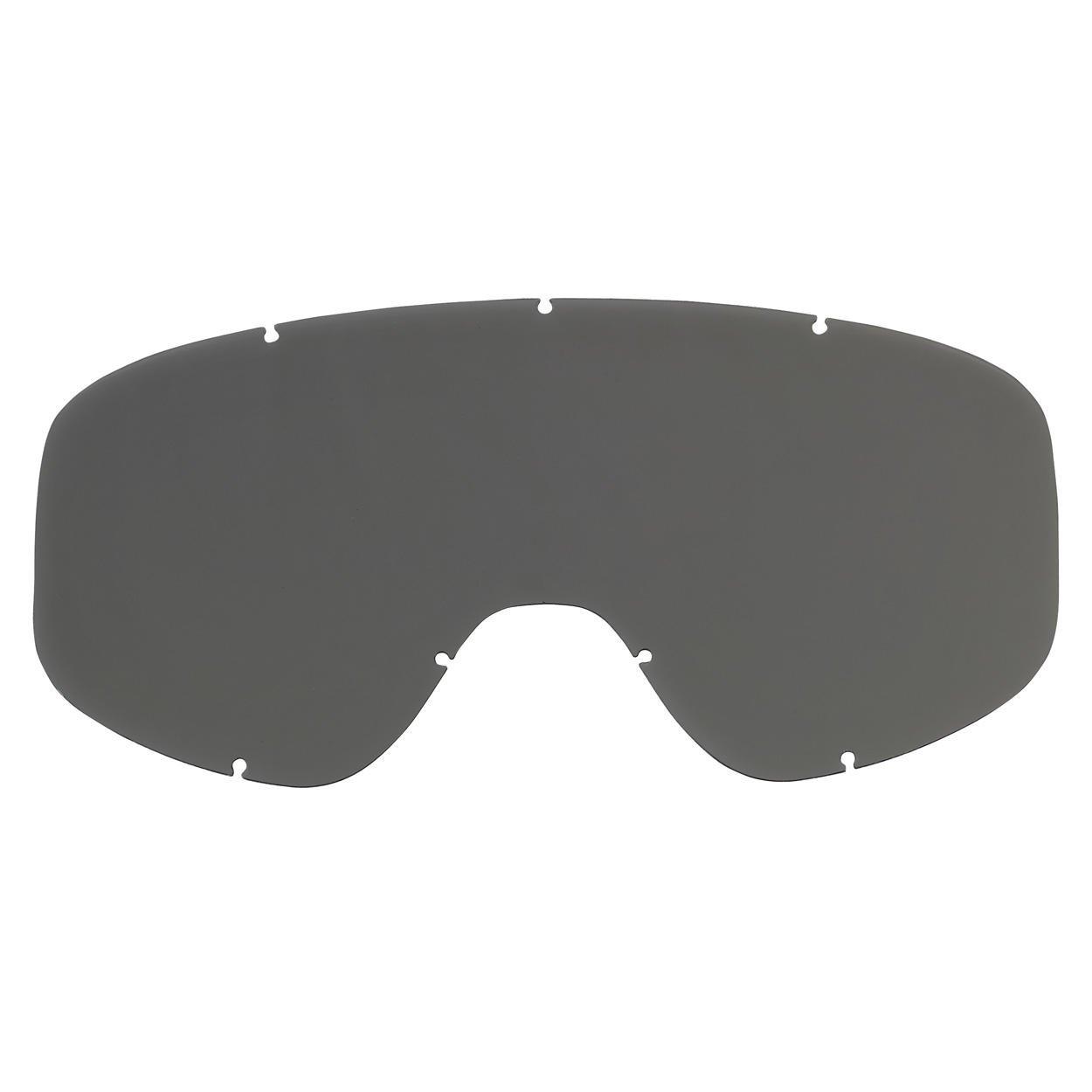 M2-SMK-SD-LX Moto 2.0 Goggle Lens One Size, Smoke Biltwell Unisex-Adults