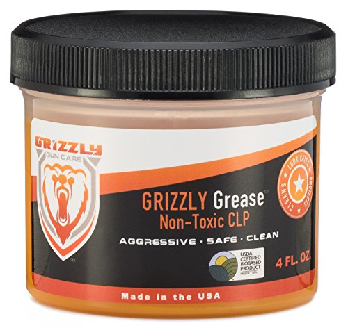 Grizzly Grease Non-Toxic CLP 4 FL OZ. - Gun Cleaner - Gun Lubricant - Firearm Protectant - ALL IN ONE Gun Cleaning Formula! (Gun Protectant compare prices)