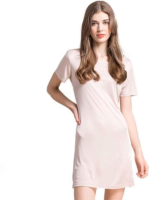 Nightie One Size Ladies 100/% Cotton Jersey Sleepy Tee Nightshirt Nightdress
