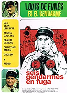 Seis Gendarmes En Fuga [DVD]