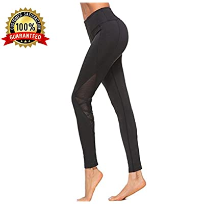 913f40e2f8a80 Yoga Pants, Yoga Leggings,High Waisted Black High Waist with Pockets Plus  Size Petite Mesh Workout Fold Over Athleta Fitness Ladies Womans Gym  Leggings ...