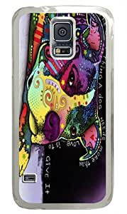 Affection PC Case Cover for Samsung S5 and Samsung Galaxy S5 Transparent