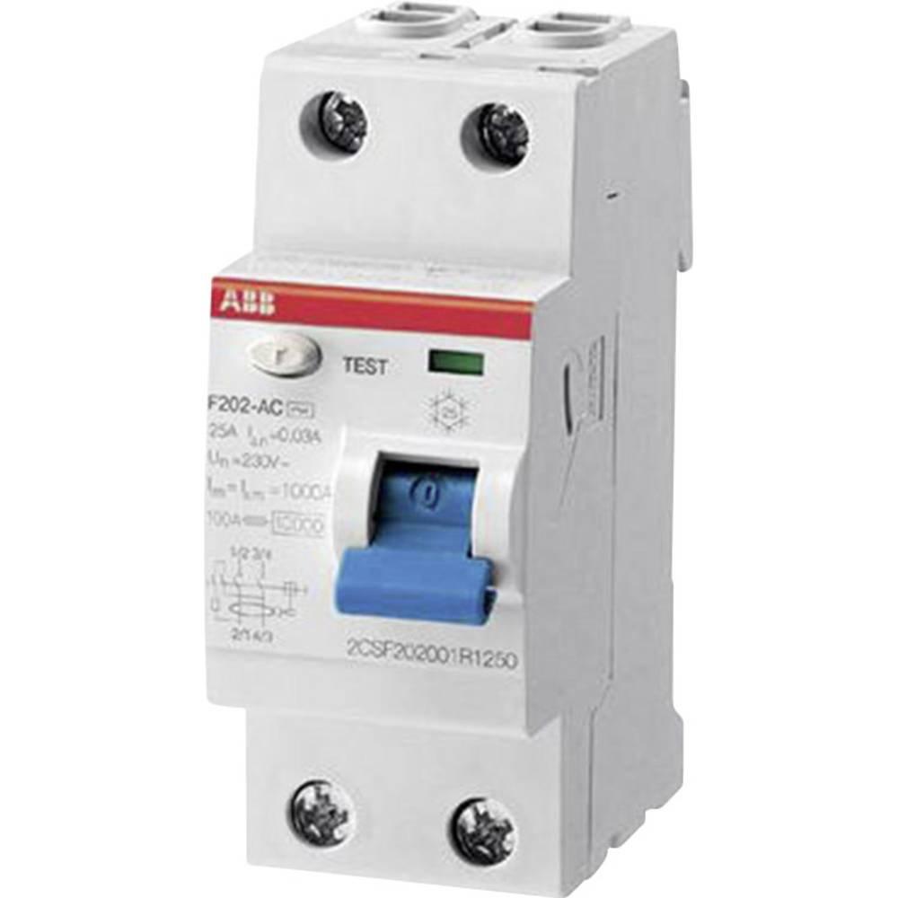 ABB F374 25A 0,5A FI-Schalter Fehlerstromschutzschalter 4 polig