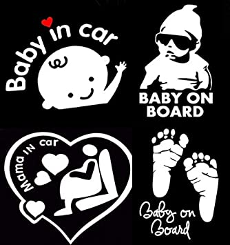 mama decal baby on board decal minivan decal cute mom decal mom life decal Baby on board