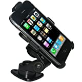Amzer 3M Adhesive Dash or Console Mount for iPhone and iPhone 3G/3GS - Black