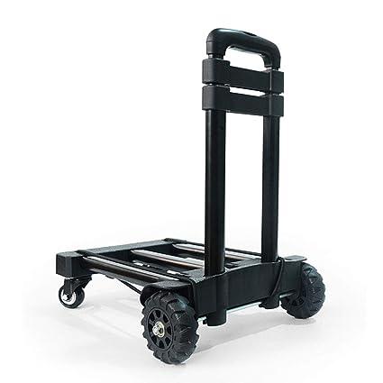 6822031fa141 Amazon.com: Utility Carts Hand Trucks Trolley Folding Trolley Home ...
