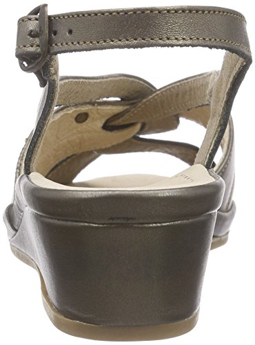 Hans Herrmann Collection Hhc Damen Clogs Gold (Lux bronzo - 90)