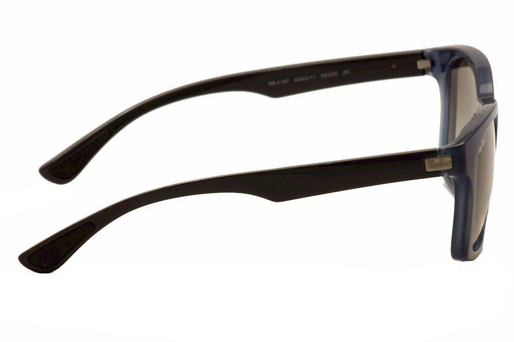 3504a539aa8 Amazon.com  Ray Ban RB4197 Sunglasses-604211 Opal Blue Gray (Gray  Lens)-56mm  Sports   Outdoors