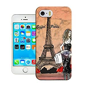 LarryToliver Customizable Eiffel Tower iphone 5/5s Hard Cover Case