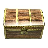 Beistle 50354 Treasure Chest Box, 8-Inch by 5-1/2-Inch