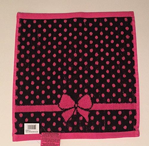 Betsey Johnson Betseys Bow 3 Piece Towel Set Hot Pink