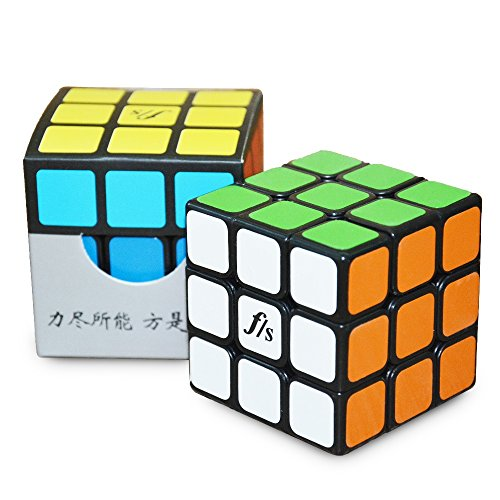 Formula® FangShi GuangYing 57MM 3x3x3 Magic Cube Speed Puzzle Intellectual Toys for Kids and Adult-Black