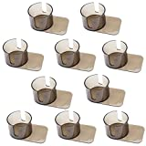 Brybelly Lot of 10 Jumbo Plastic Cup Holders with