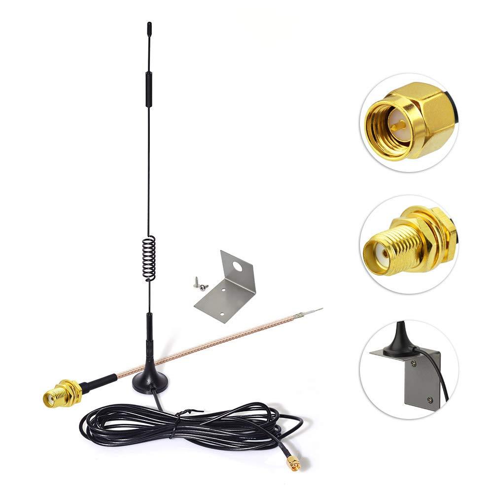 Eightwood 868 MHz Antenne Helical Antenne 10pcs DIY Federantenne f/ür Homematic CCU3 CCU2 Raspberry Pi-HM-MOD-RPI-PCB-Bausatz Wireless Module Antenne MEHRWEG