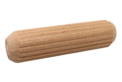 amazon com milescraft 5302 fluted wood dowel pin 3 8 inch home