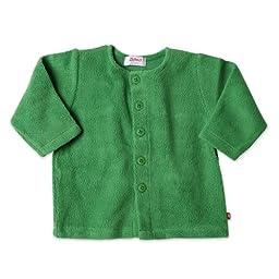 Zutano Infant Unisex-Baby Cozie Fleece Jacket, Apple, 18 Months