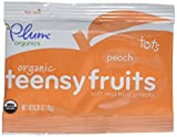 Plum Organics Tots Teensy Fruits - Peach - 1.75 oz