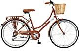 Viking 2018 Belgravia Ladies Traditional Heritage 26' Wheel 6 Speed Bike 18' Copper