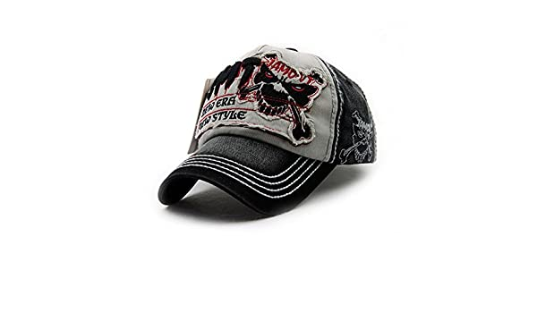 0f59ec2585b Amazon.com   Gorras Beisbol Planas Snapback Caps Wolf Bone Baseball Cap  Golf Hats For Men Women Casquette Hip Hop Boys Homme Driver Sun Hat (Number  5 Black) ...