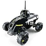 Rover Robot Móvil 2x Cámaras Espía Wi-Fi Vision Nocturna Domo PTZ Audio-2Vías