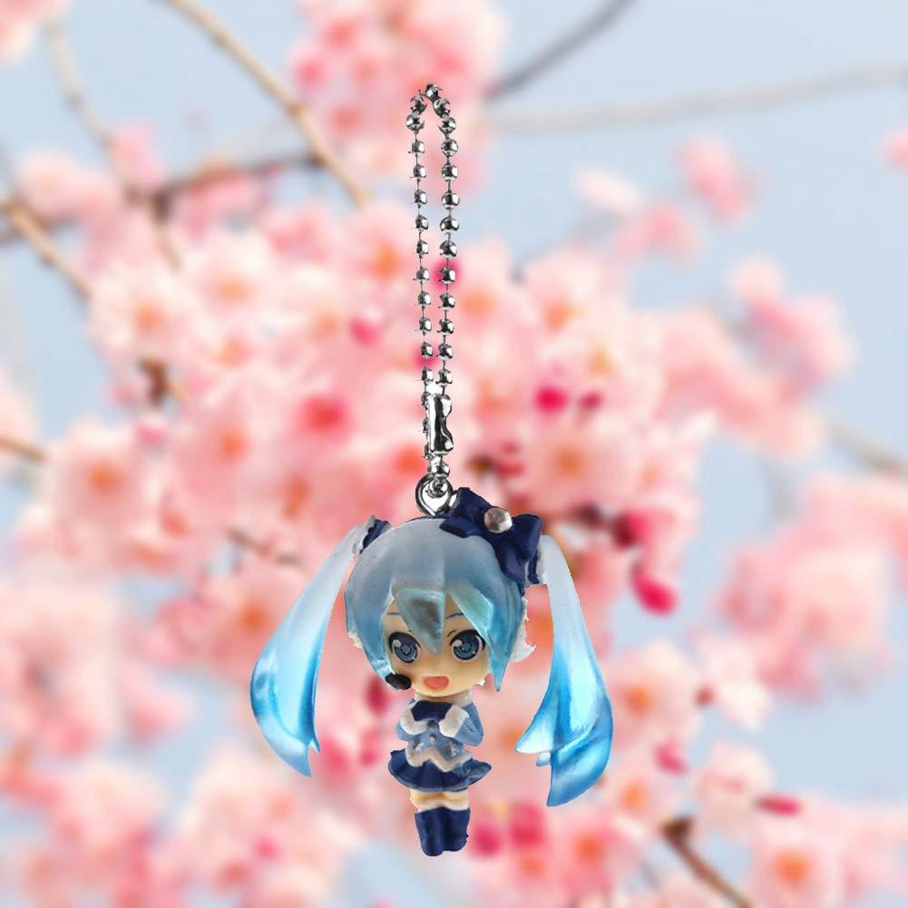 zhongjiany Hatsune Miku Anime Figura Llavero Llavero acr/ílico Style01