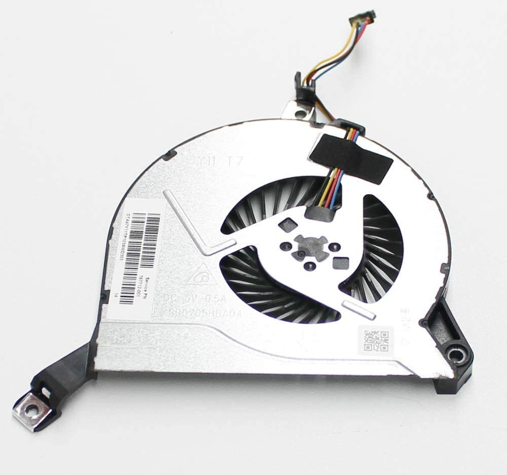 Original New For HP 17-f267nr 17-f262nr 17-f233nr Cpu Fan