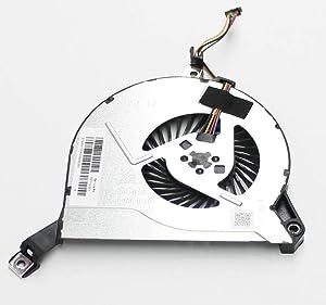 SWCCF CPU Cooling Fan for HP Pavilion 15-P001NR 15-P010DX 15-P010US 15-P011NR 15-P019NR 15-P020CA 15-P020US 15-P021CA 15-P021CY 15-P021NR 15-P022CA 15-P022CY, Envy M7-K010DX M7-K111DX M7-K211DX