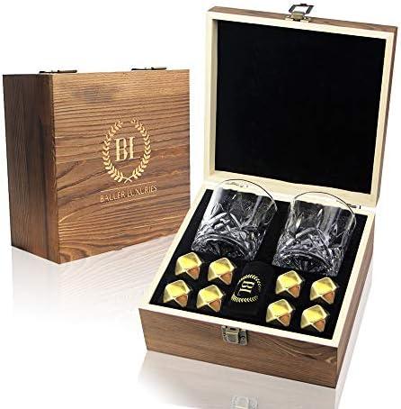 Premium Whiskey Stone Set Diamond Shaped product image