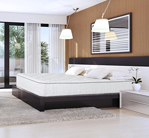 Olee Sleep AZOL10SMT01 10SMT01 Mattress, Twin Size, White