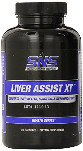 Solutions Liver (Serious Nutrition Solution Liver Assist XT Capsules, 180 Count)