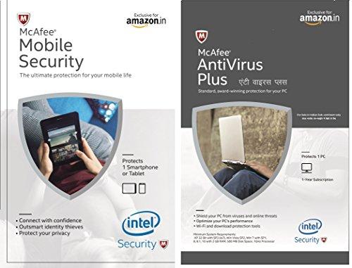 McAfee Antivirus Plus + Mobile Security Product Key (Voucher) [License] Windows 10