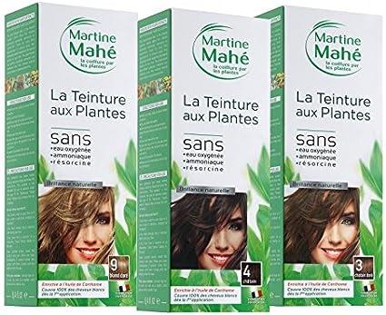 Tinte de plantas 5 aplicaciones Nº1 Negro 250 ml